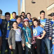 group shot with ATI shirt