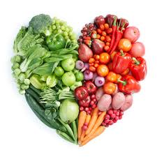 hearts of fruits and veggies
