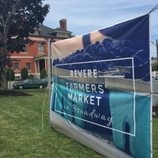 Revere Farmers' Market Banner