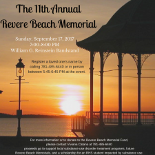 11th Annual Revere Beach Memorial Ad