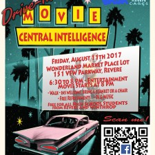 Drive in Movie Night Flyer
